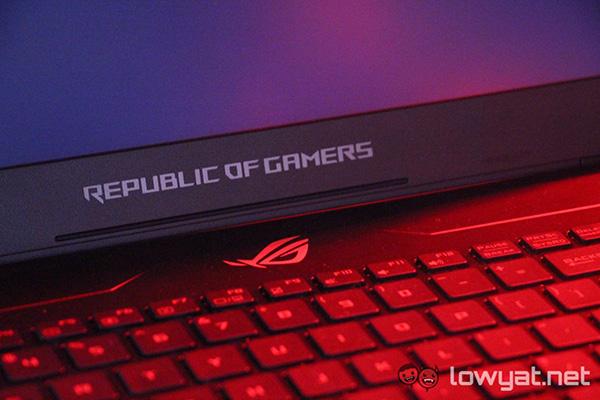 Asus ROG GL702ZC – первый в мире игровой ноутбук на базе процессора AMD Ryzen