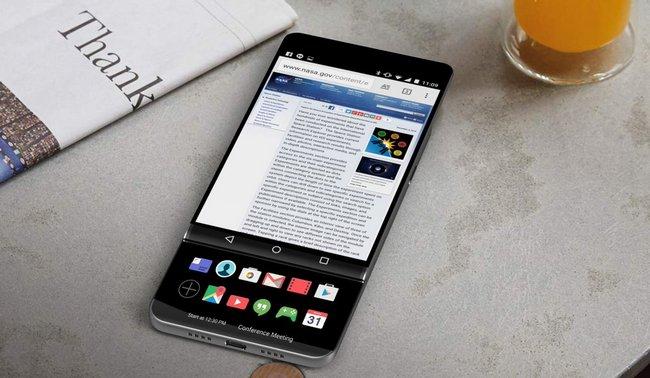 Смартфон LG V30 может быть выполнен в форм-факторера
