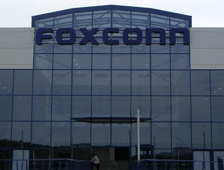 Foxconn приписывают намерение разместить в США производство небольших жидкокристаллических панелей