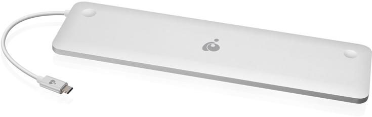 Док Iogear GUD3C02 позволяет подключить к ноутбуку до десяти периферийных устройств