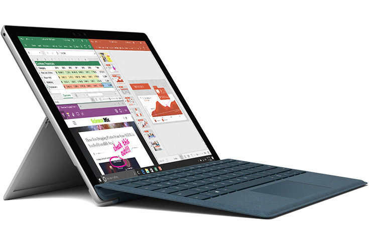 Мобильный компьютер Microsoft Surface Pro