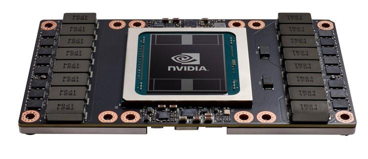 Nvidia представила монструозный GPU GV100 и ускоритель Tesla V100
