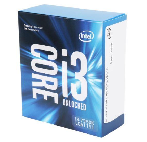 Процессор Intel Core i3-7350K подешевел