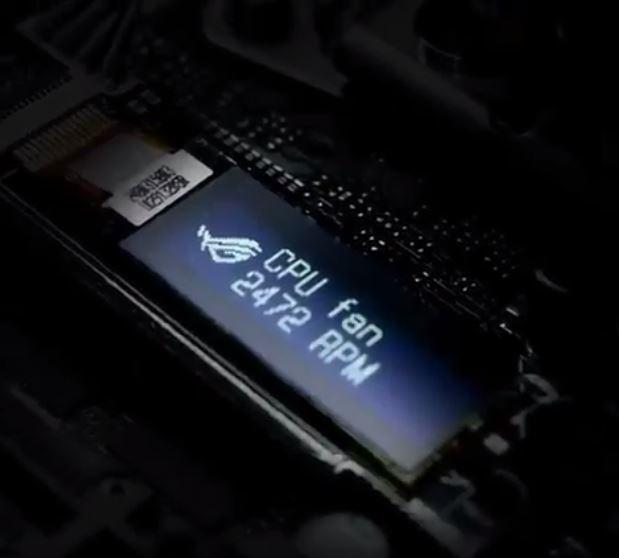 Asus готовит ноутбук на базе процессора AMD Ryzen и материнскую плату со встроенным экраном OLED