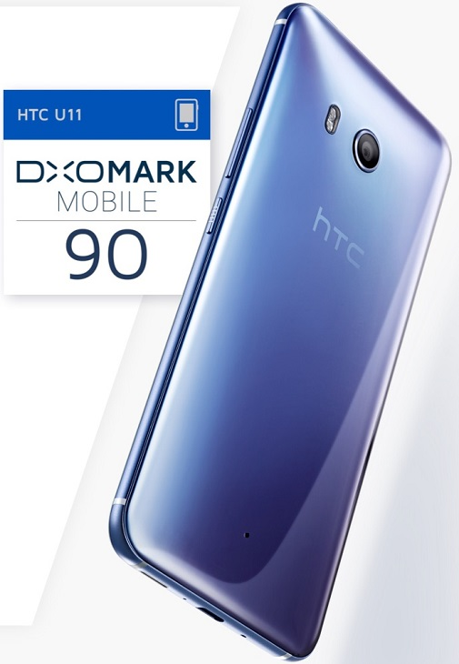 Основой смартфона HTC U11 стала SoC Qualcomm Snapdragon 835