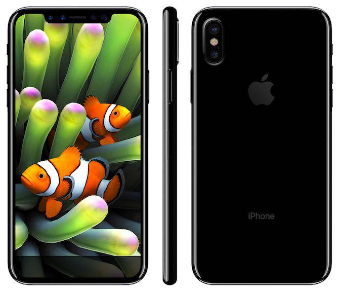 Goldman Sachs считает, что версии iPhone 8 с флэш-памятью объемом 128 и 256 ГБ будут стоить 9 и 99 соответственно