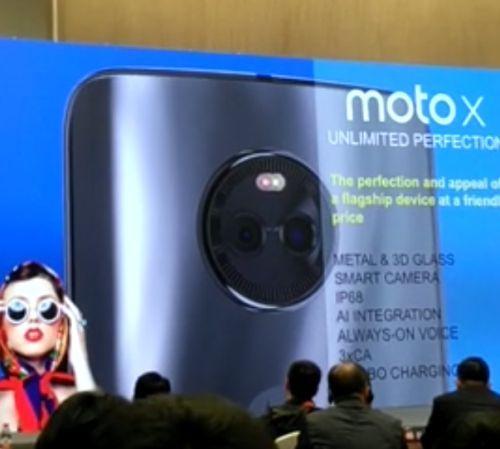 ВКитайской республике назакрытой презентации представлен смартфон Moto X2017
