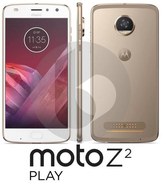 Смартфон Moto Z2 Play станет быстрее, тоньше и легче предшественника, но получит ощутимо меньший аккумулятор