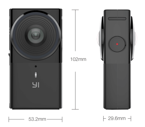 Панорамная камера Yi 360 VR оценена в 9