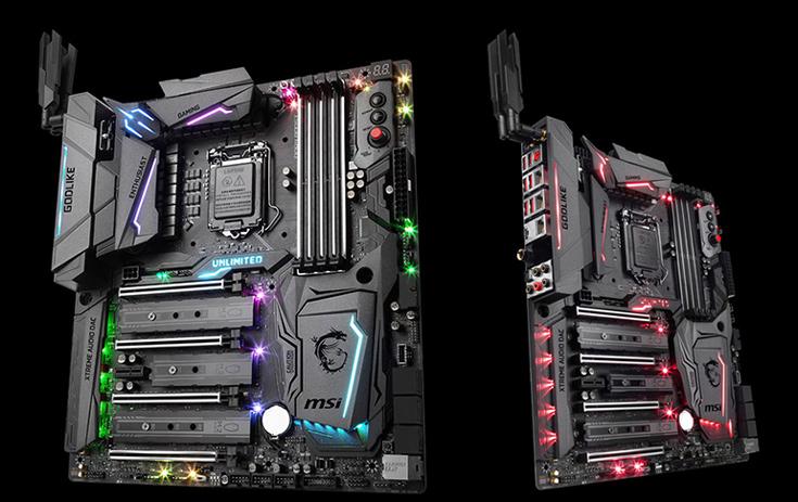 Плата MSI Z270 Godlike Gaming оснащена сетевым контроллером Killer и портами USB 3.1 Gen 2