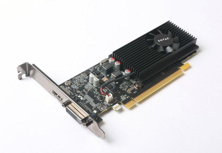 Zotac выпустила лишь один вариант GeForce GT 1030