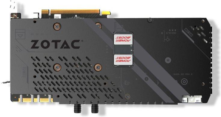 3D-карта Zotac GTX 1080 Ti ArcticStorm оснащена водоблоком