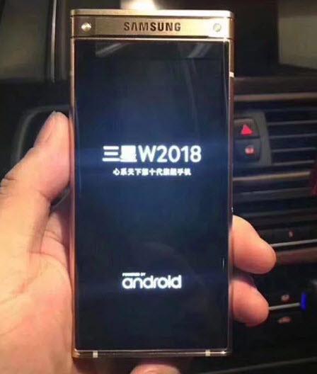 Двухэкранный смартфон-раскладушка Самсунг засветился навидео