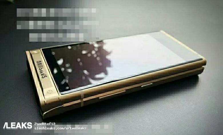 Смартфон-раскладушка Samsung W2018 засветился в сети