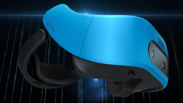 HTC представила свой 1-ый автономный VR-шлем