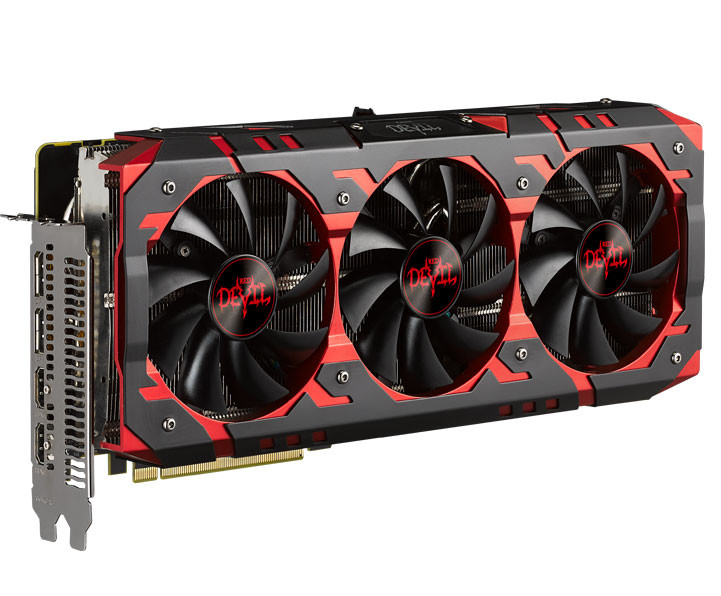 Серия включает модели PowerColor Red Devil RX Vega 64 и PowerColor Red Devil RX Vega 56