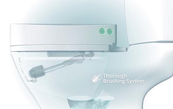 Робот SpinX даст возможность навсегда забыть очистке унитаза