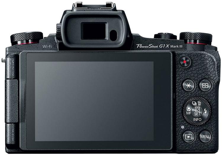 В камере Canon PowerShot G1 X Mark III используется датчик изображения формата APS-C