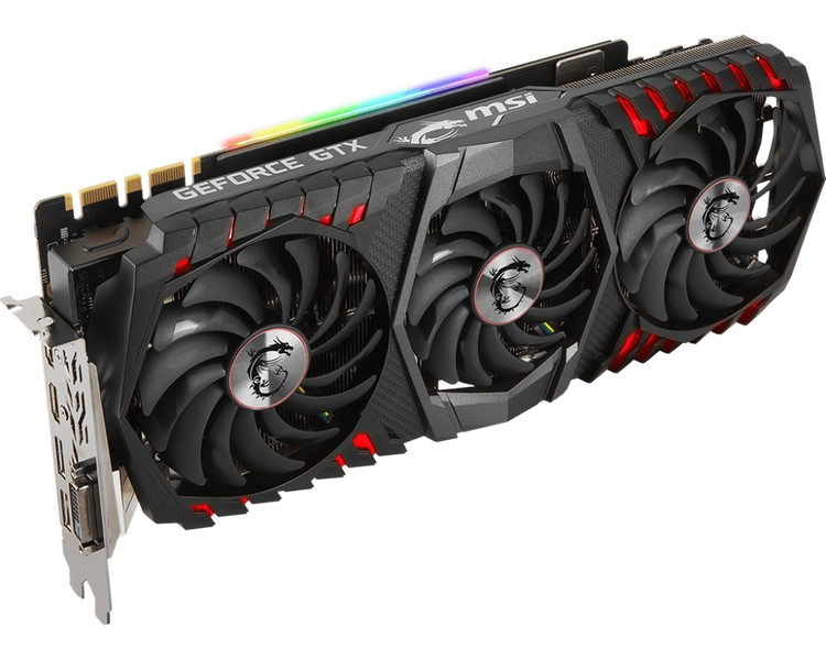 MSI представила видеокарты GeForce GTX 1080 Ti Gaming X Trio и GeForce GTX 1080 Ti Gaming Trio