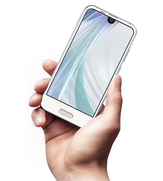 Смартфон Sharp Aquos R Compac получил дисплей диагональю менее пяти дюймов
