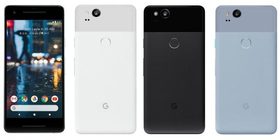 Смартфон Google Pixel XL 2 получит дисплей 18:9