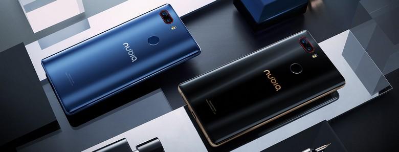 ZTE представила смартфон Nubia Z17s class=