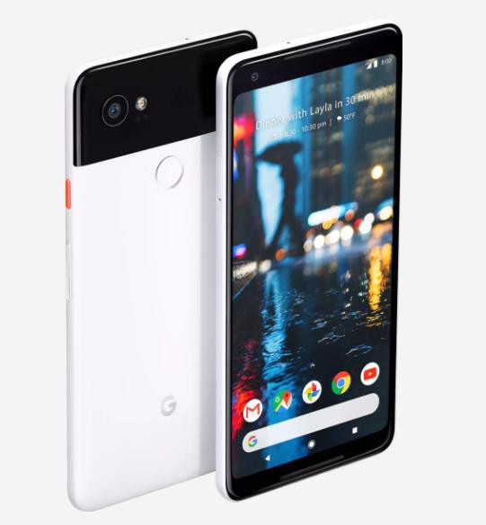 Google Pixel 2 и Pixel 2 XL отличаются формата экранов