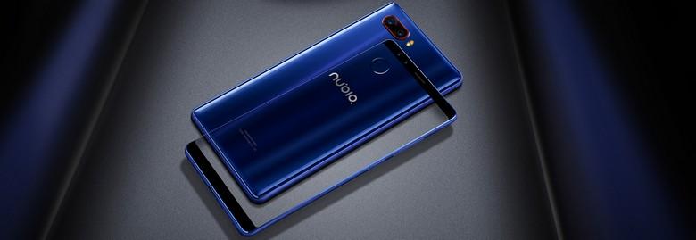 ZTE представила смартфон Nubia Z17s