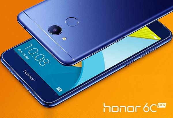 В Российской Федерации представлен дешевый железный смартфон Honor 6C Pro