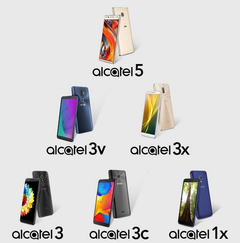 Шесть новых телефонов Alcatel 2018 займут три ценовые ниши— специалист