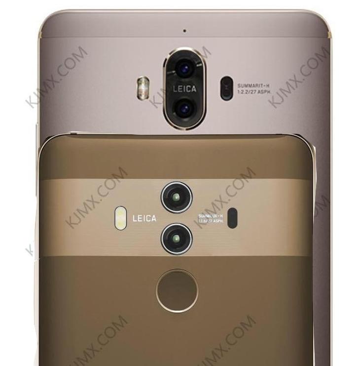 Huawei Mate 10 Pro— новые изображения, новый дизайн
