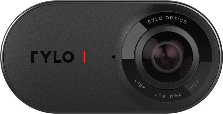 Панорамная камера Rylo спроектирована в расчете на использование совместно со смартфоном