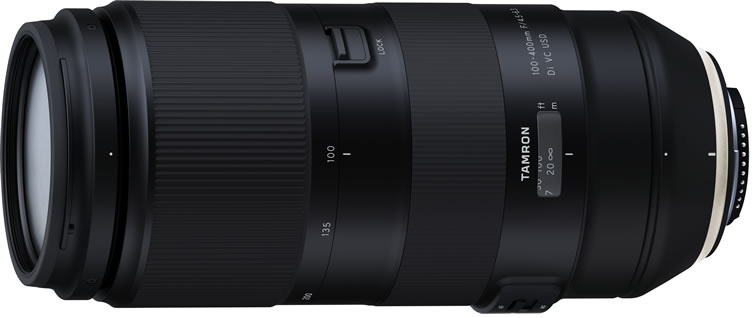 Объектив Tamron 100-400mm f/4.5-6.3 Di VC USD (Model A035)