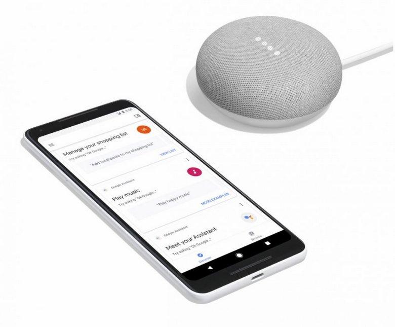 Google Home Мини представлена официально