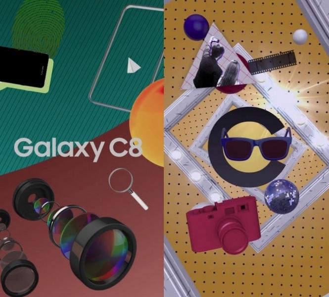Samsung оснастит Galaxy C8 двойной камерой