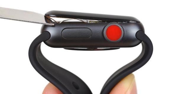 Apple Watch Series 3 LTE всё ещё показывают средний балл за ремонтопригодность