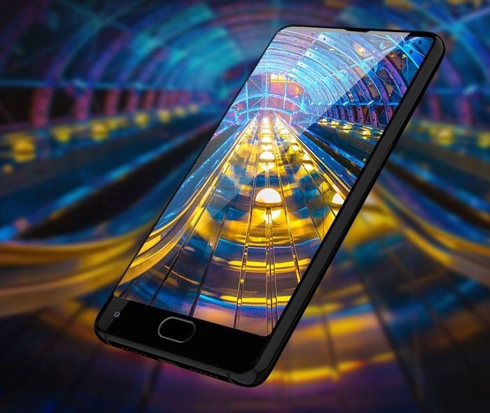 a501d54fdc8ad Uhans MX станет самым доступным в мире смартфоном с экраном, который лишь  снизу окружен широкой рамкой