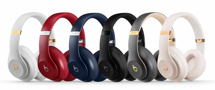 Apple выпустила беспроводные наушники Beats Studio 3 с адаптивной системой шумоподавления