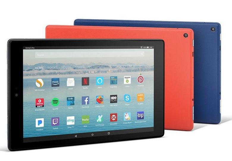 Amazon представила новый планшет All-New Fire HD 10
