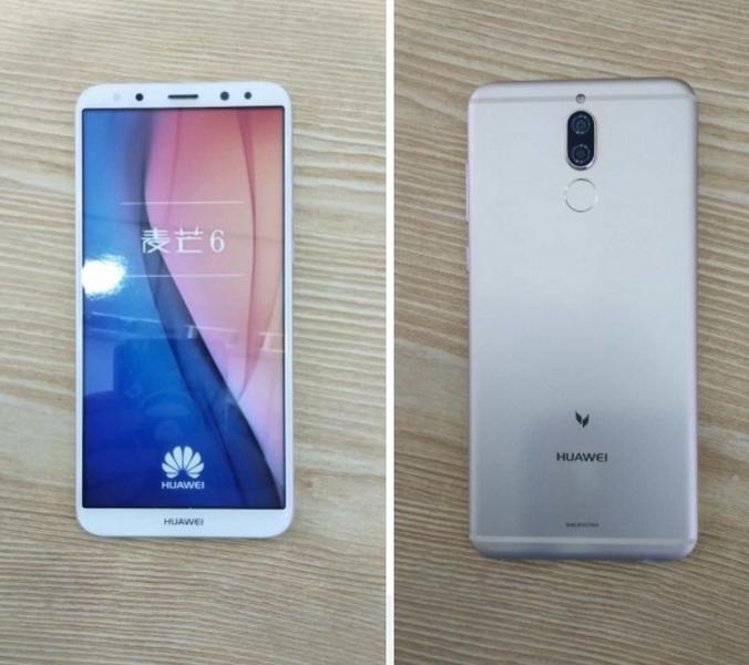 Смартфон Huawei G10 показался наживых фото