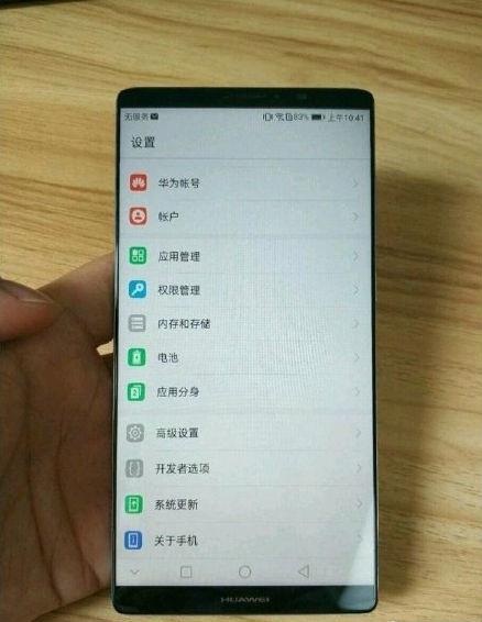 Huawei Mate 10 Pro позирует на фото