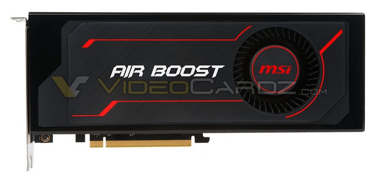 MSI Radeon RX Vega 64 Air Boost получит кулер турбинного типа