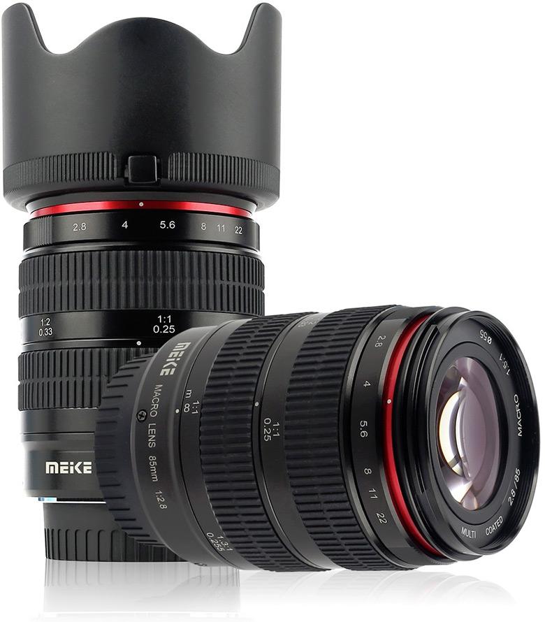 Полнокадровый объектив Meike MK-85-F2.8 фокусируется вручную