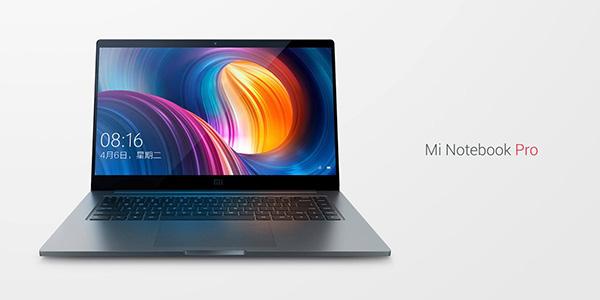 Xiaomi представила ноутбук MiNotebook Pro