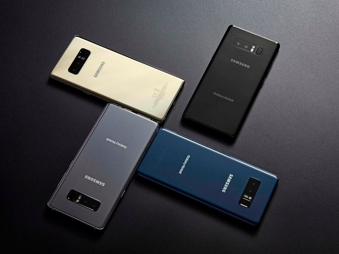 Смартфон Samsung Galaxy Note8 установил рекорд по продажам на Британских островах