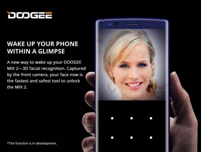 Компания Doogee представила альтернативу системе распознавания лиц FaceID
