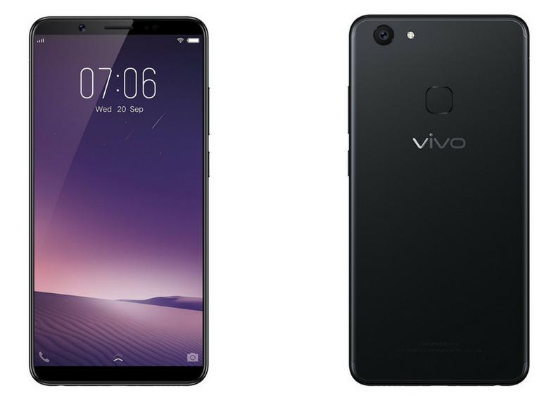 Смартфон Vivo V7+ оценили в 345 долларов