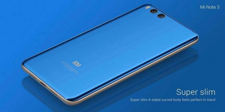 Смартфон Xiaomi Mi Note 3 стоит столько же, сколько Mi 6
