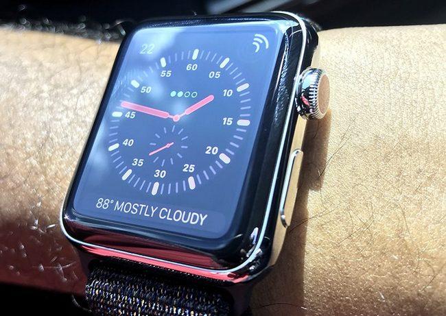Apple признала неполадки вработе новых «умных» часов