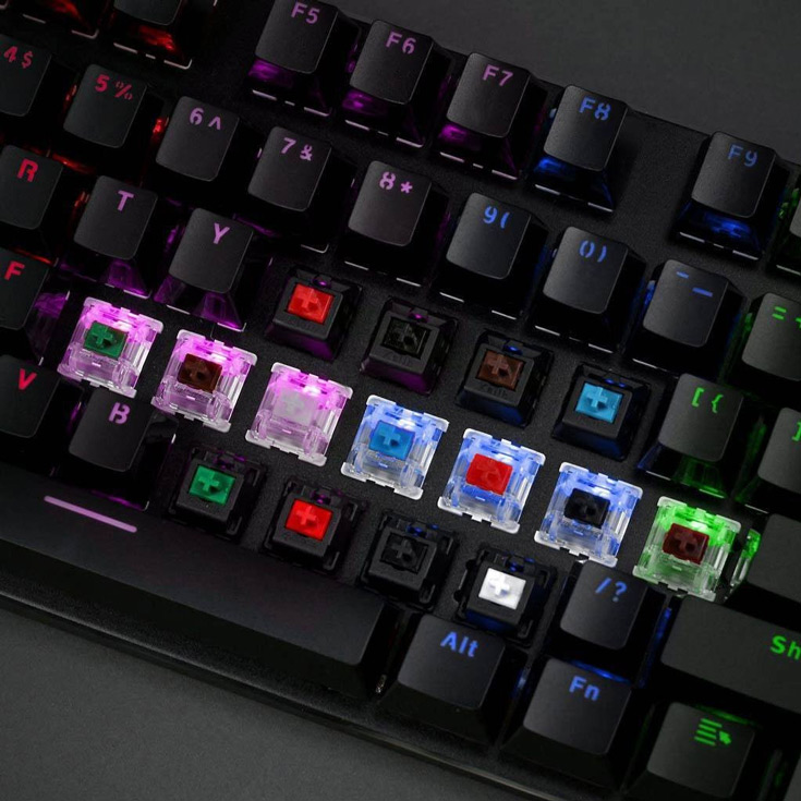 К компьютеру клавиатура Glorious Modular Mechanical TKL Keyboard подключается по интерфейсу USB 2.0